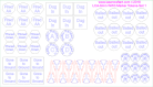 1/2 size FoW/TY/WW3 Marker Tokens-Set 1