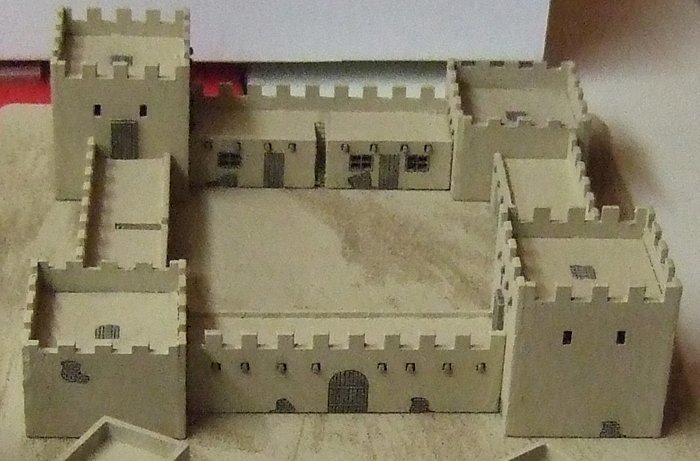 10mm French foreign legion fort